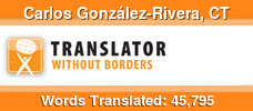 English to Spanish & German to Spanish volunteer translator