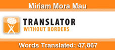 English to Spanish & French to Spanish volunteer translator