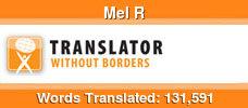 French to English & Italian to English volunteer translator