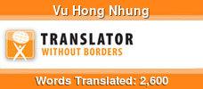 English to Vietnamese & Vietnamese to English volunteer translator