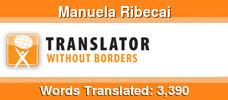 Italian to French & English to French volunteer translator