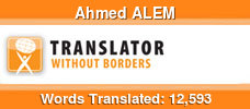 English to Arabic & French to Arabic & Arabic to English volunteer translator