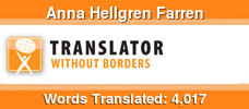 English to Swedish & French to Swedish & Danish to Swedish volunteer translator