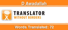 English to Arabic volunteer translator