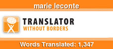 English to French & French to English volunteer translator