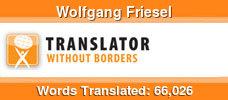 English to German & Spanish to German volunteer translator