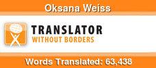 English to Russian & English to Ukrainian volunteer translator