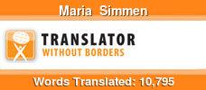 English to German & German & Spanish to German volunteer translator