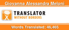 Spanish to Italian & English to Italian volunteer translator