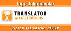 English to Lithuanian & Lithuanian to English volunteer translator